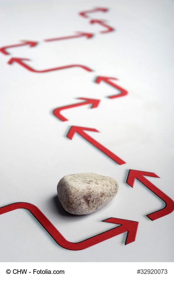 Lebens-Steine aus dem Weg räumen