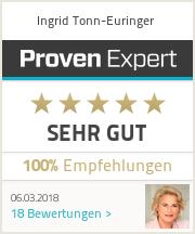 Ingrid Tonn-Euringer, ProvenExpert